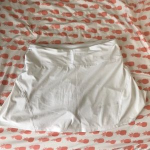 Lulu Lemon White Skirt